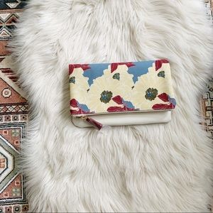 nwot rachel pally | floral fold over clutch